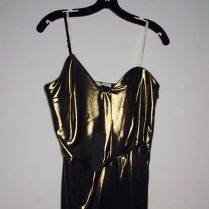 Halston Heritage Bronze Formal Dress   Sz 8
